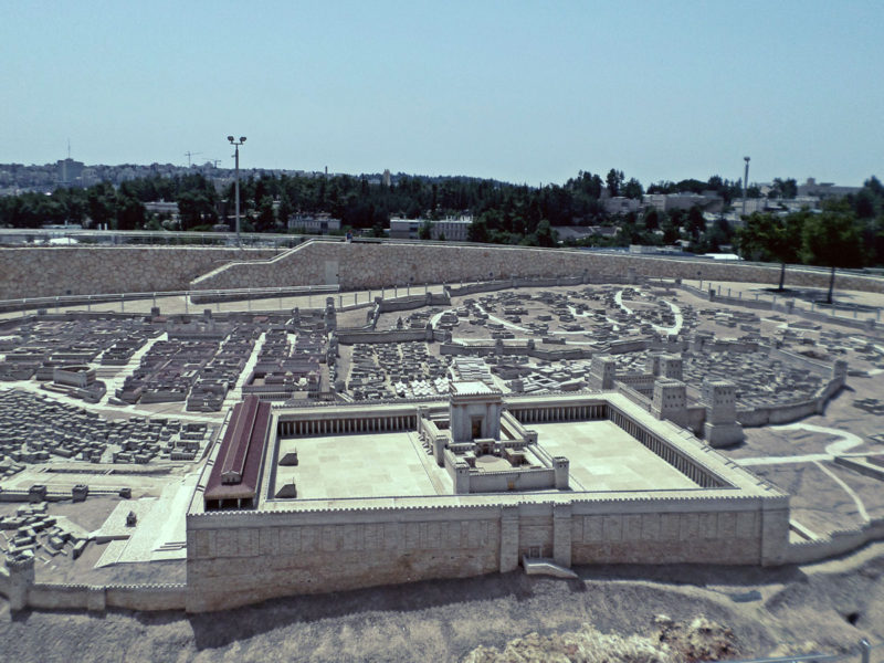 City of David model at Israel Museum