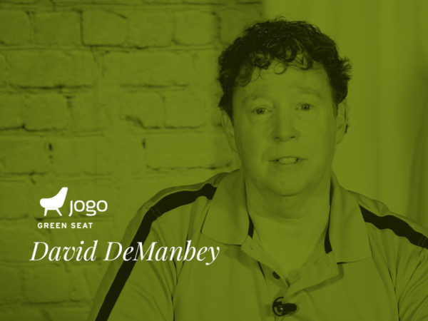 David DeManbey in the JoGo Green Seat