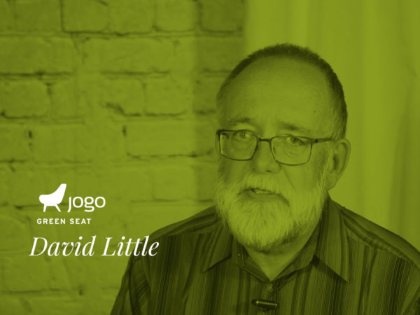 David Little in the JoGo Green Seat